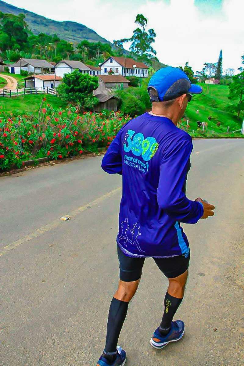 Arquivo pessoal. Percurso Rota do Lagarto na Maratona Pedra Azul - ES